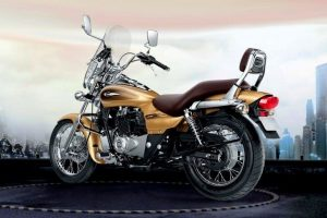 Bajaj Avenger Cruise 220 Desert Gold Edition side profile