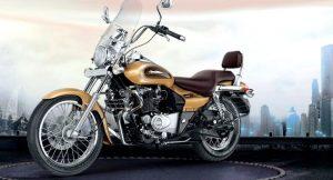 Bajaj Avenger Cruise 220 Desert Gold Edition front side
