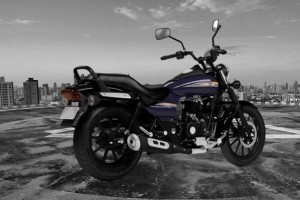 Bajaj Avenger Street 150 rear side view