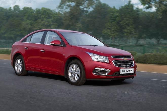 Chevrolet Cruze 2016 India