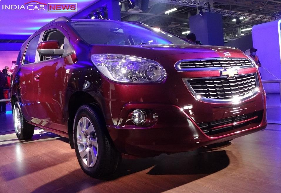 Chevrolet Spin India Launch Price Mileage Images Specs
