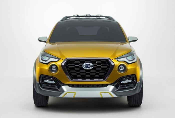 Datsun Go Cross front end