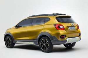 Datsun Go Cross rear