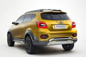 Datsun Go Cross rear end