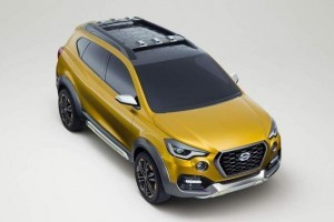 Datsun Go Cross top view