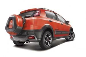 Fiat Abarth Avventura rear