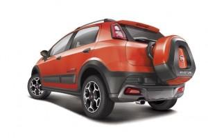 Fiat Abarth Avventura rear side