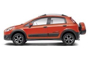 Fiat Abarth Avventura side profile