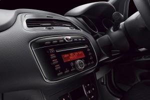 Fiat Abarth Punto audio system