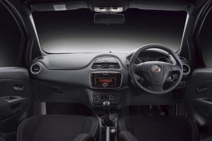 Fiat Abarth Avventura dashboard
