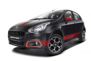 Fiat Abarth Punto front