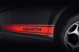 Fiat Abarth Punto side decal