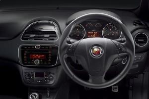 Fiat Abarth Punto steering