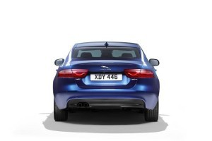 Jaguar XE India rear profile