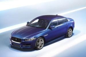 Jaguar XE India top view