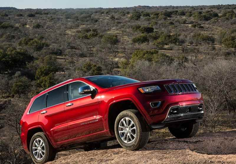 Jeep Grand Cherokee India side view