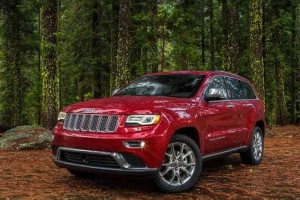 Jeep Grand Cherokee India front side