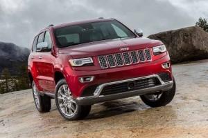 Jeep Grand Cherokee India front fascia
