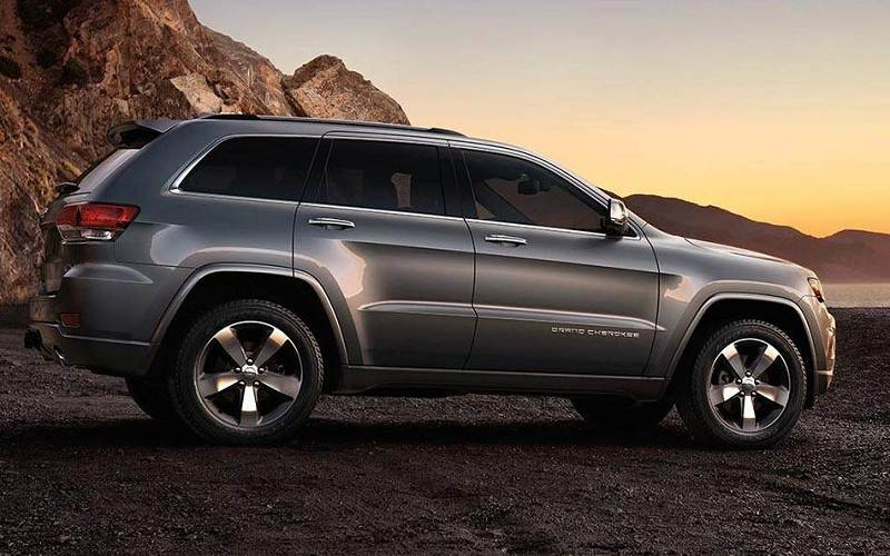 Jeep Grand Cherokee India side profile