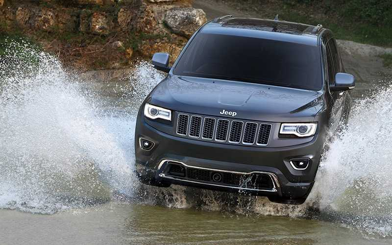 Jeep Grand Cherokee India front