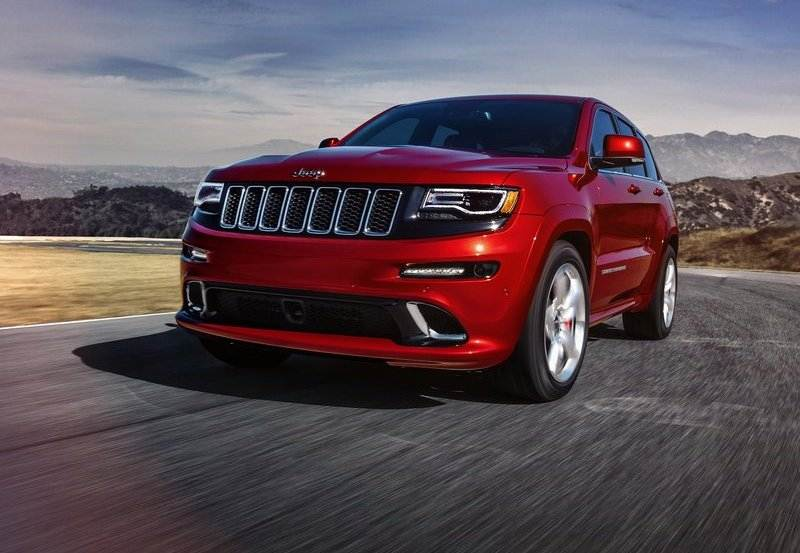 Jeep Grand Cherokee SRT India front