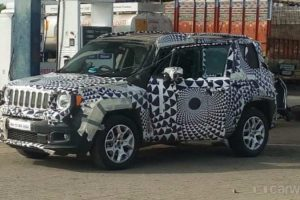 Jeep Renegade Spied