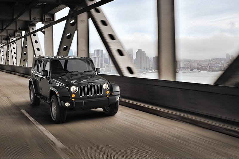 Jeep Wrangler Unlimited India specs