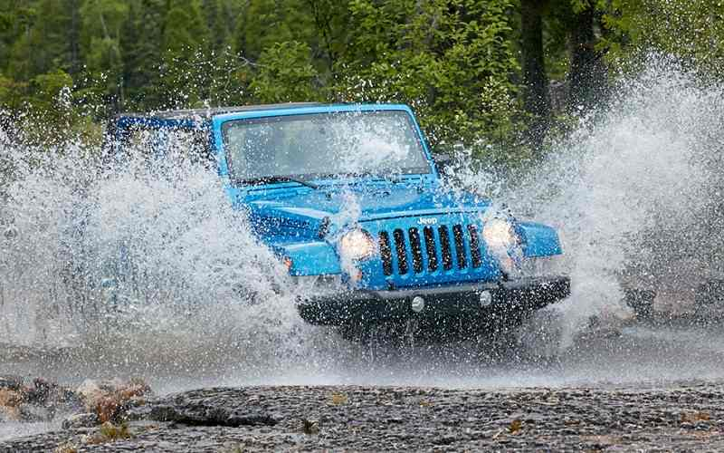 Jeep Wrangler price in India
