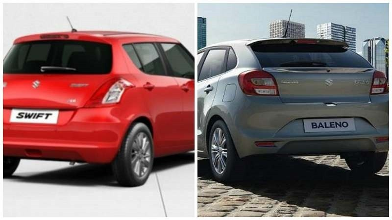 Maruti Baleno Vs Maruti Swift