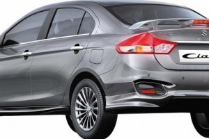 Maruti Ciaz RS rear side
