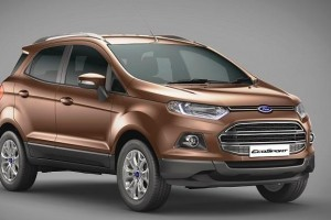 New Ford EcoSport 2016 Front-side view