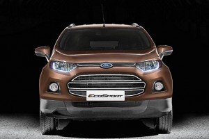 New Ford EcoSport 2016 front