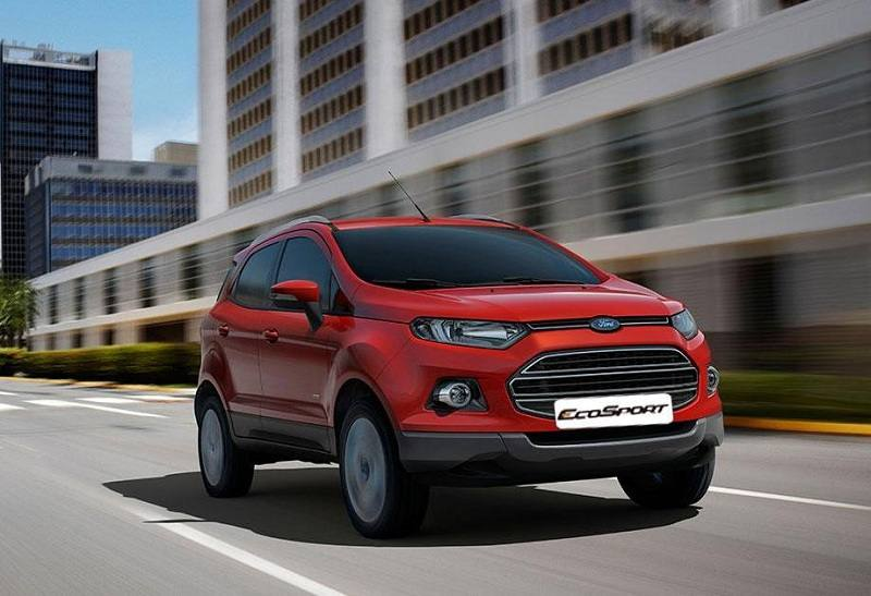 New Ford EcoSport 2016 front view