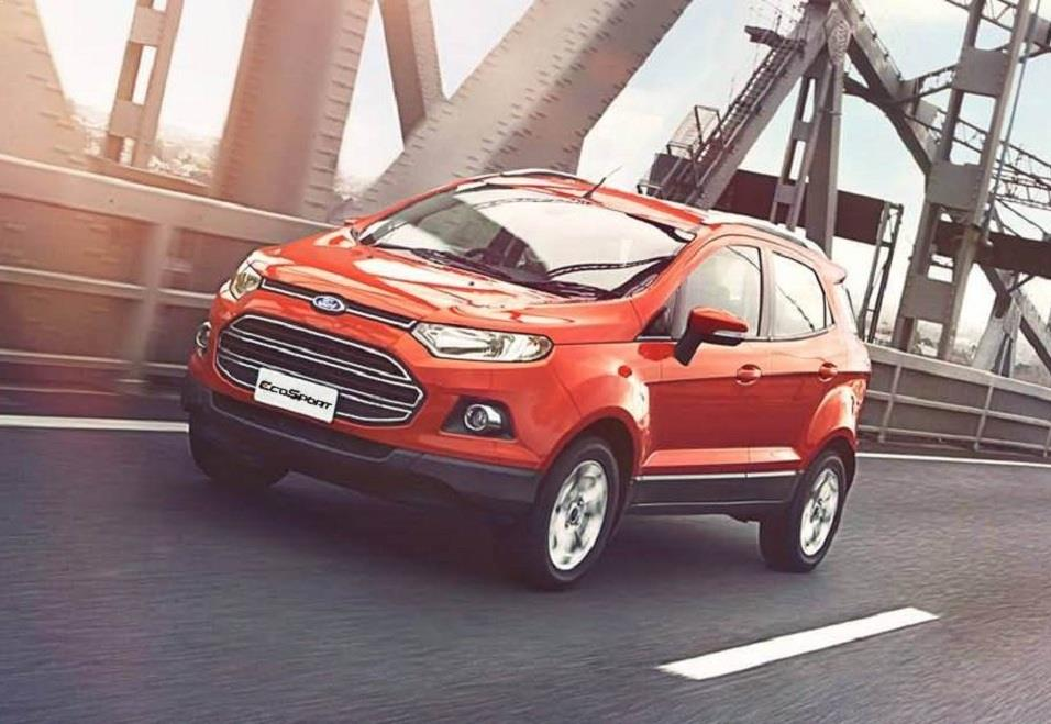 New Ford EcoSport 2016 front end