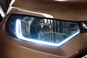 New Ford EcoSport 2016 headlight