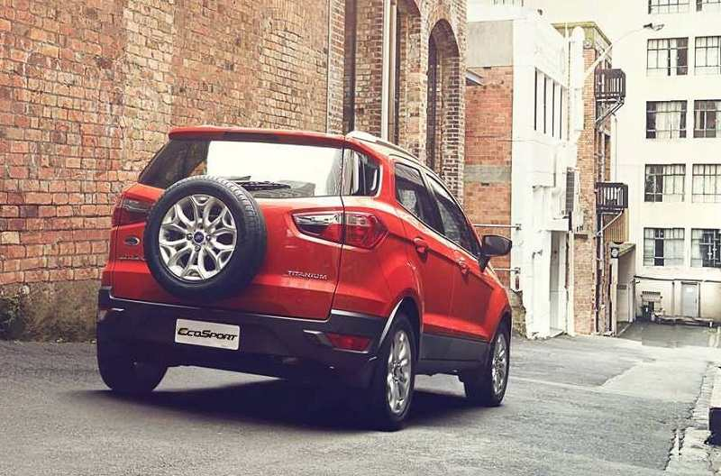 New Ford EcoSport 2016 rear view