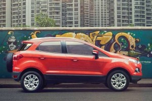 New Ford EcoSport 2016 side view