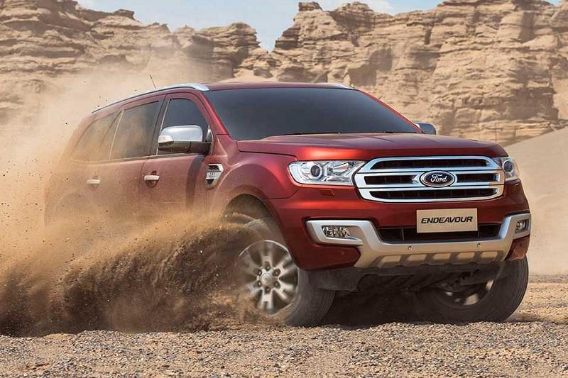 New Ford Endeavour 2017 model