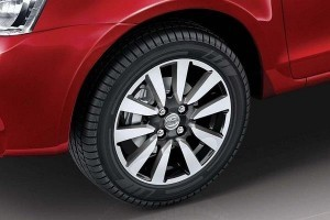 New Toyota Liva 2015 alloys