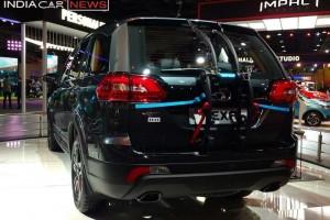 Tata Hexa rear profile