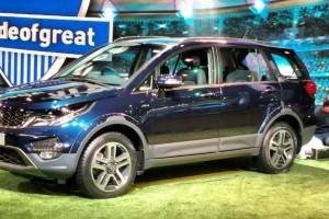 Tata Hexa at Auto Expo