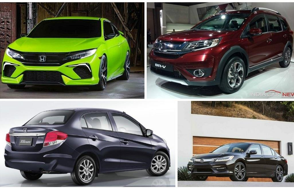 Upcoming Honda Cars In India In 2016, 2017