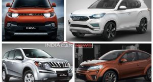 Upcoming Mahindra Cars in India in 2017 2018