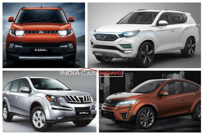 Upcoming Mahindra cars in India in 2017, 2018