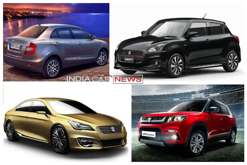 new car launches expected in indiaUpcoming New Maruti Cars in India in 2017 2018  11 New Cars