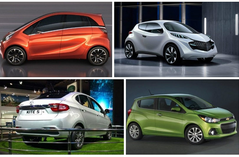 Upcoming small cars between Rs 3 lakh - Rs 5 lakh