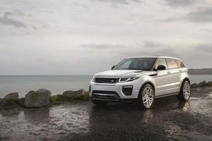 2016 Range Rover Evoque front side