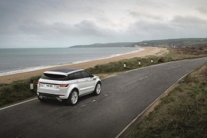 2016 Range Rover Evoque rear