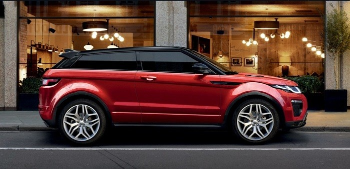 2016 Range Rover Evoque red