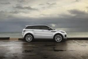 2016 Range Rover Evoque side profile